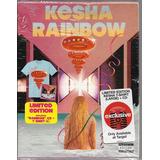 kesha-kesha Box Target Kesha Rainbow [raro Camiseta]